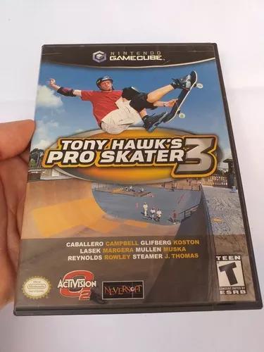 Tony hawk's pro skater 3 nintendo game cube