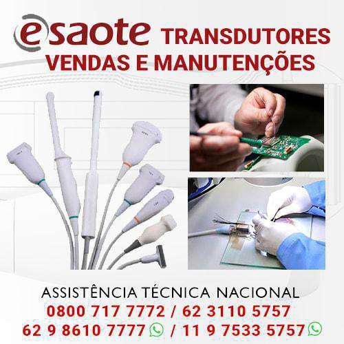 Transdutores esaote - vendas e manutenções todo brasil