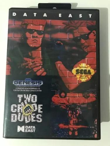 Two crude dudes genesis/mega drive original
