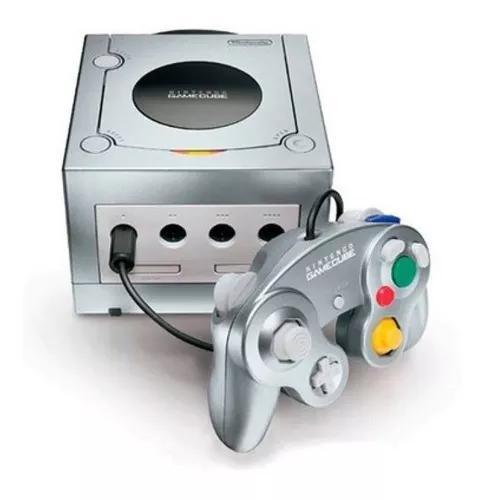 Usado console nintendo game cube prata - nintendo