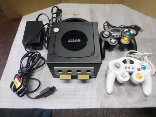 Videogame game cube black original importado completo