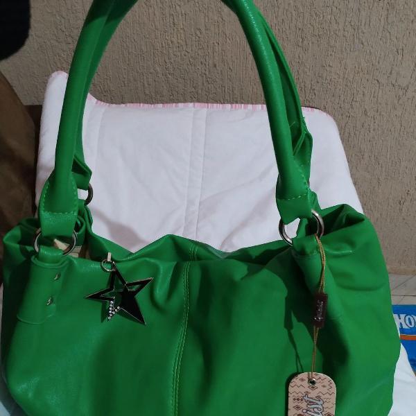 Bolsa verde fashion