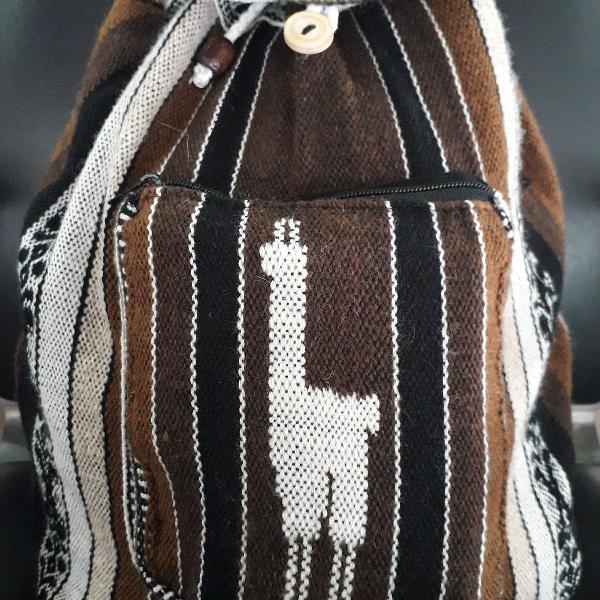 Lã de alpaca artesanal