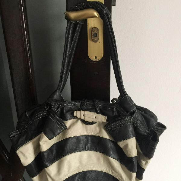 Linda bolsa bicolor!!