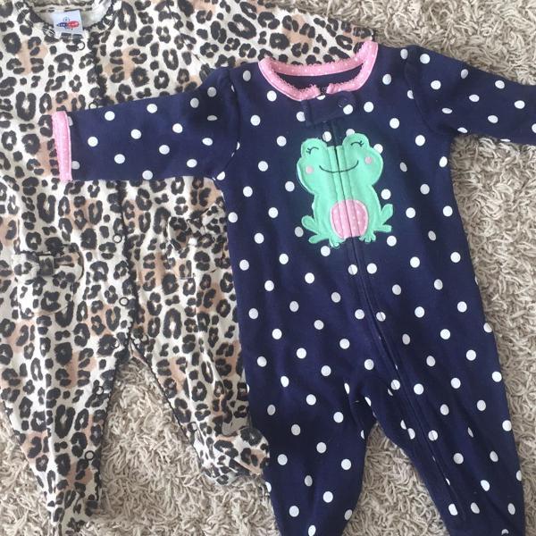Macacão bebê menina