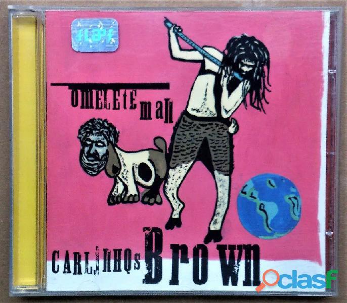 Vendo cd original omelete man   carlinhos brown