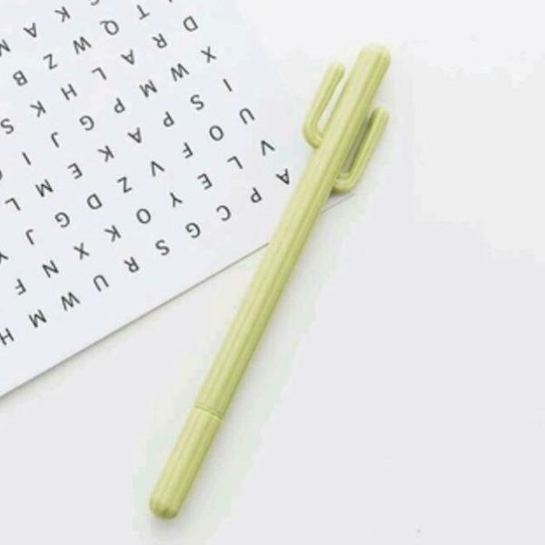 01 unidade caneta cacto