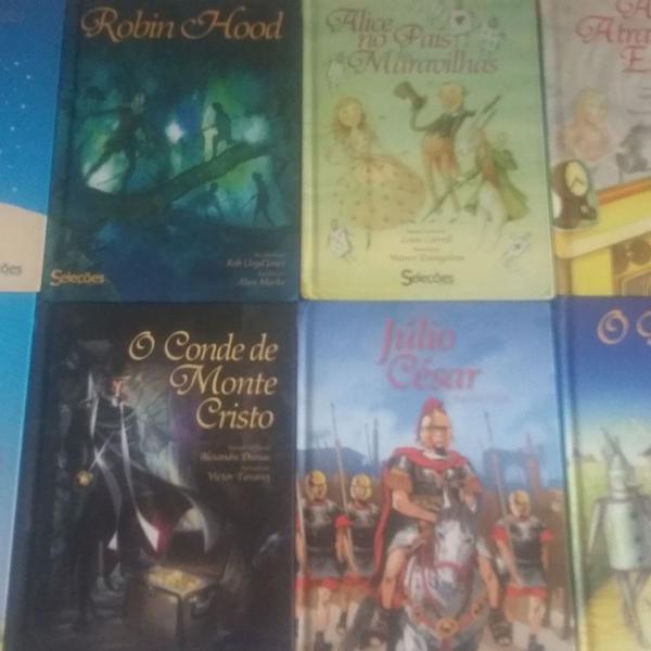 14 livros de literatura usado em bom estado de conservação
