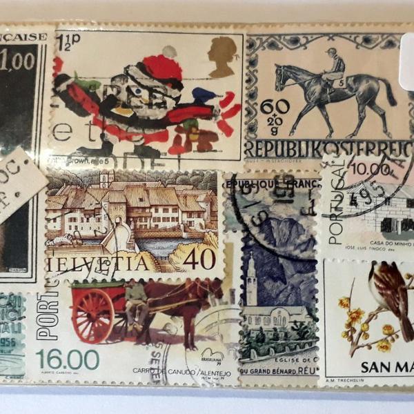 300 selos novos e diferentes da europa ocidental