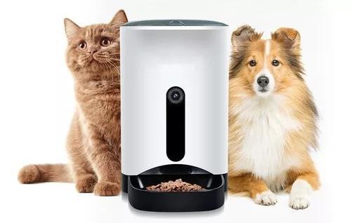 Alimentador automático inteligente para cães e gatos