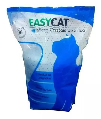 Areia higienica silica easy cat 1,6kg