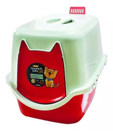 Banheiro para felino ou caixa de areia gato - durapets