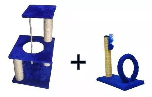 Brinquedo para gatos poste com bolinha mais bombeiro