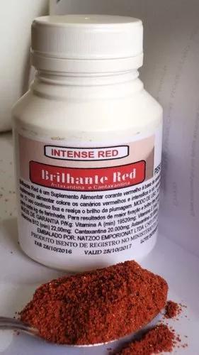 Cantaxantina & astanxantina - brilhante red- pote 50g