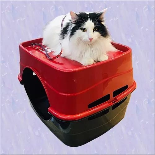Casa inglu para gatos cama para gato colchonete confortável