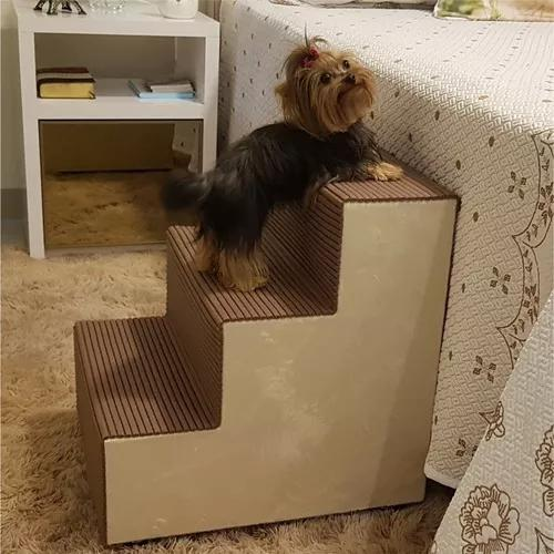 Escadinha rampa para acesso cama pet cães e gatos