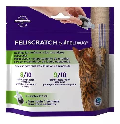 Feliway feliscratch 9x5ml educador de gatos comportamento