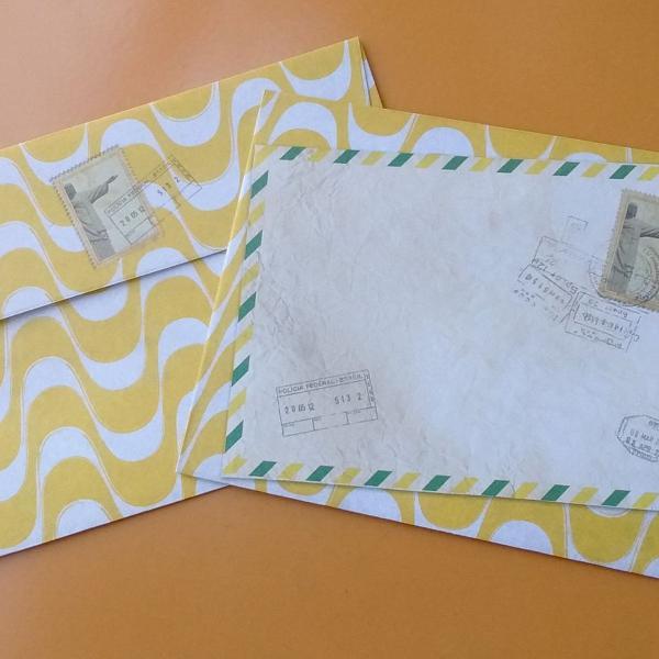 Kit cartões e envelopes rj