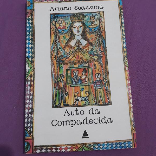 """Livro """"auto da compadecida- ariano suassuna"""""""
