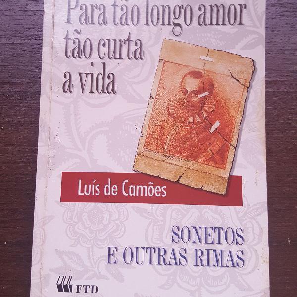 Livro para tão longo amor tão curta a vida