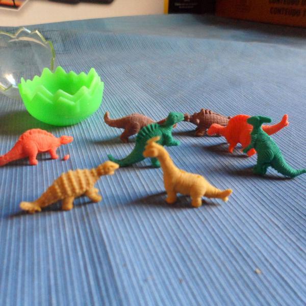 Mini borrachas dinossauros