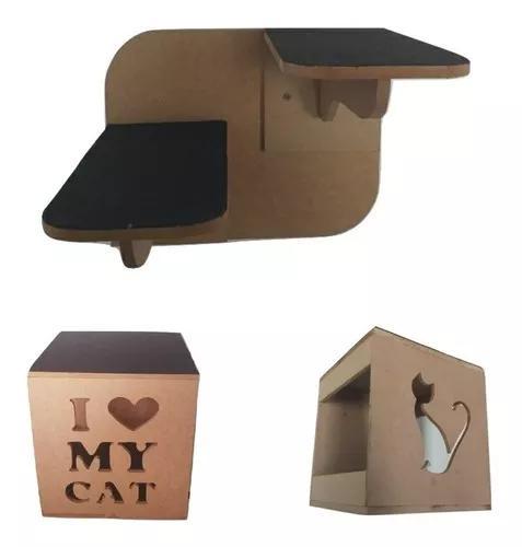 Nicho arranhador toca brinquedo interativo gato pet
