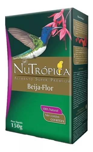 Ração nutrópica néctar para beija-flor - 150 g