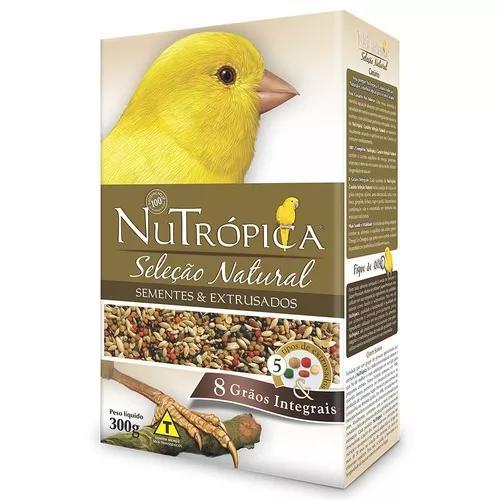 Ração nutrópica seleção natural canário - 300 g