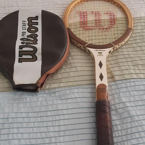 Raquete de tenis vintage