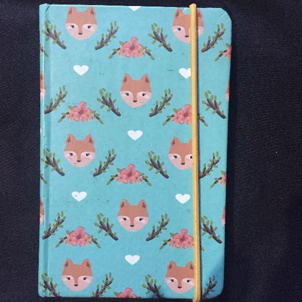 Caderneta raposinha