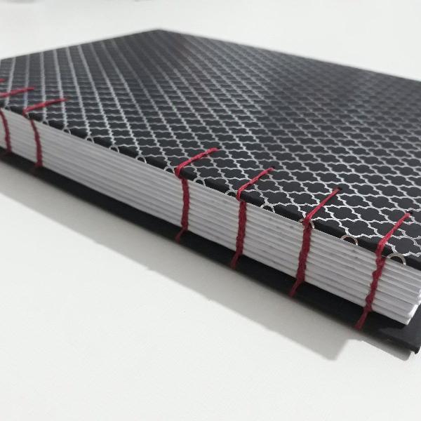 Caderno artesanal tamanho a5