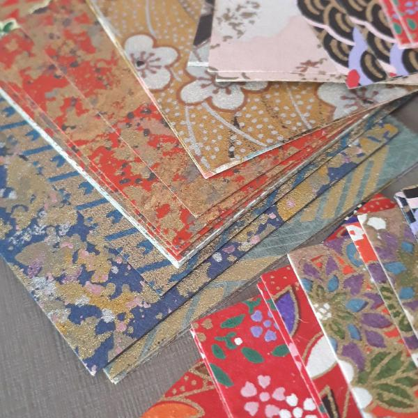 Caixa com origamis especiais do japão