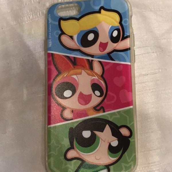 Capinha meninas super poderosas iphone 6-6s