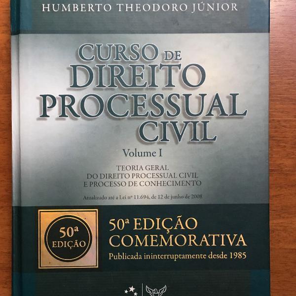 Curso de direito processual civil - vol 1