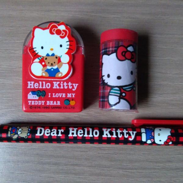 Hello kitty e lápis