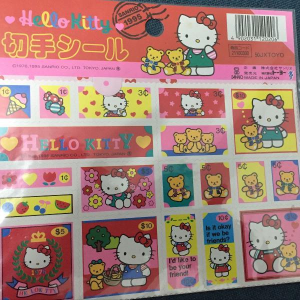 Hello kitty japão papelaria e materiais