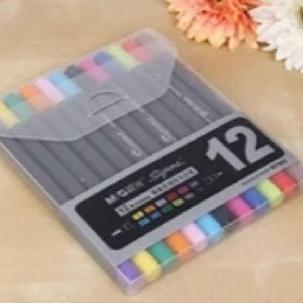 Kit brush pen colorido