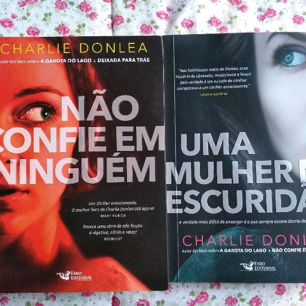 Kit livros charlie donlea