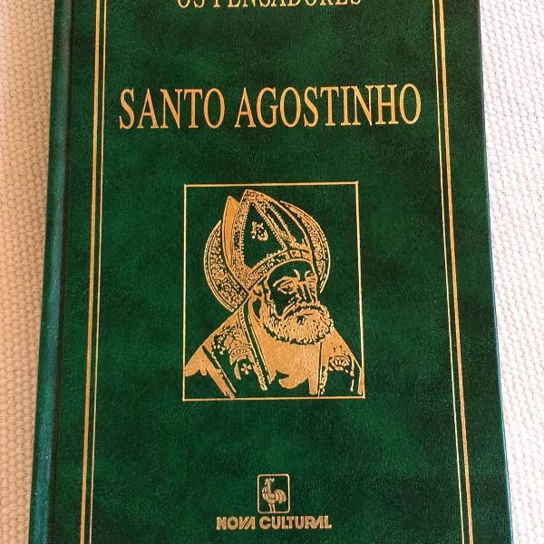 Livro: os pensadores - santo agostinho confissões