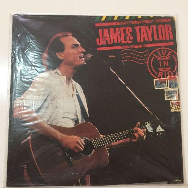 Lp james taylor - live in rio