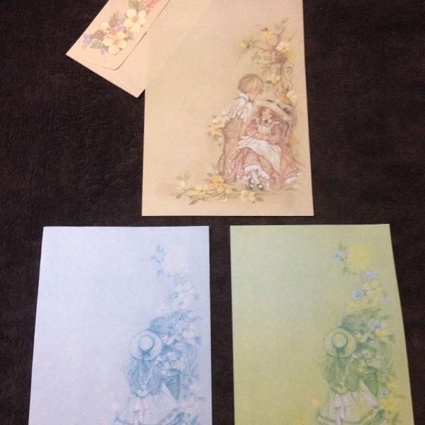 Papéis de carta - lote - coleção romeu & julietae
