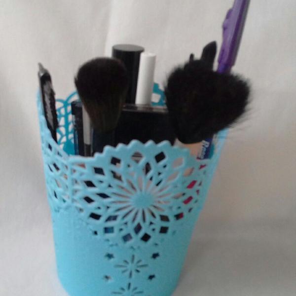 Porta caneta pincel porta treco kit com 3 peças
