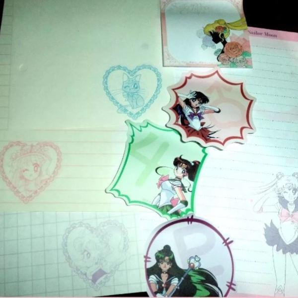 Sailor moon letter set