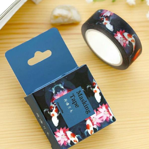 Washi tape carpas