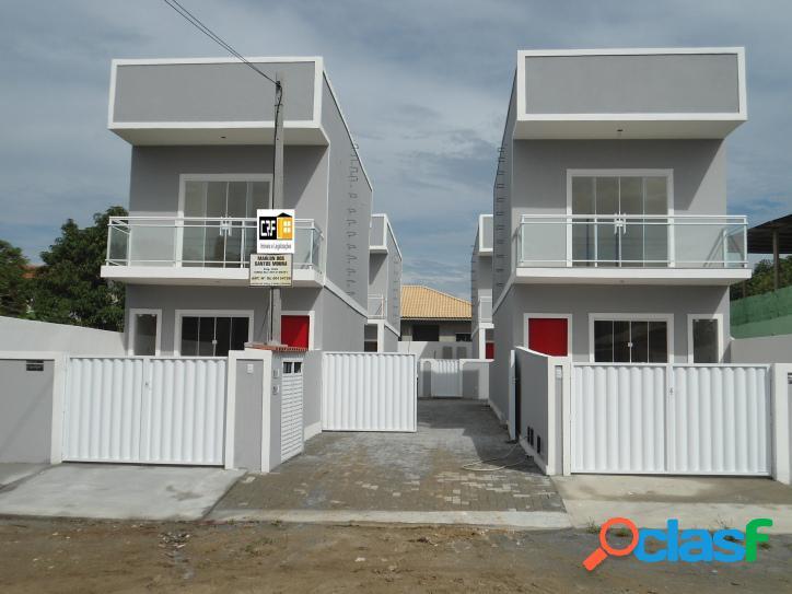 Duplex em Araruama c/ 2 quartos