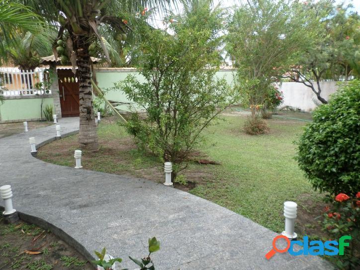 Casa no centro de Praia Seca com 3 quartos e 2 terrenos. 1