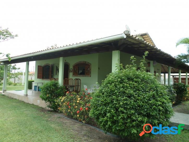 Casa no centro de Praia Seca com 3 quartos e 2 terrenos. 2