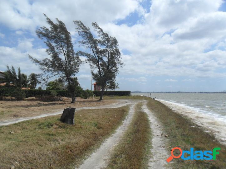 Linda área de frente para a lagoa com 3.000 m2, com vista panorâmica