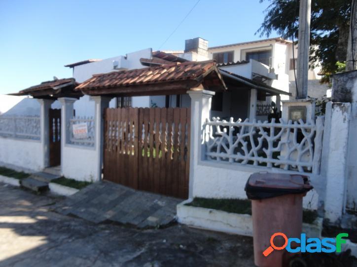 Casa para venda tem 90 metros quadrados e 3 quartos em praia do hospício - araruama - rj.