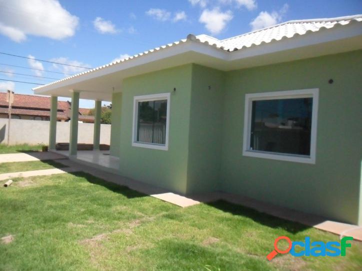 Bela casa 1ª locação com suíte proximo a comercio a 300 m da lagoa